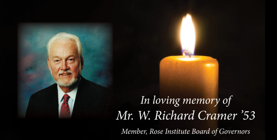 In Loving memory_Richard Cramer'53