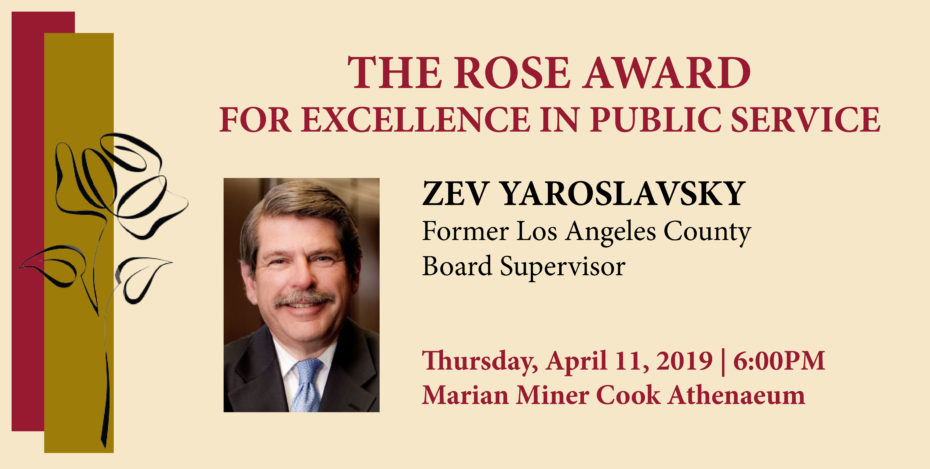 The Rose Award announcement