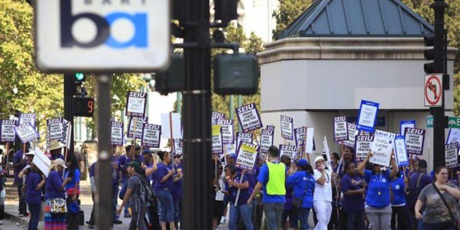 BART Union Workers Go on Strike