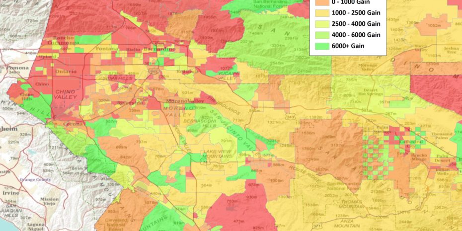 2010 Census Shows Large Increase for Inland Empire